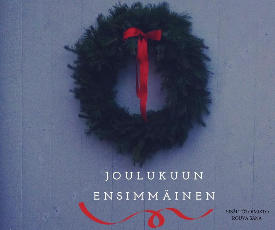 Joulukuun ensimmäinen