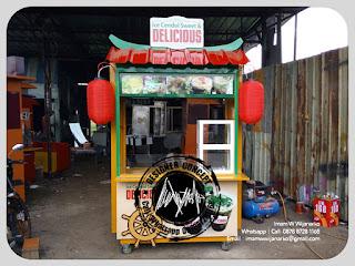 produksi gerobak ice cendol delicious