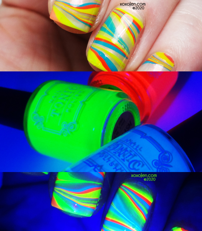 xoxoJen's swatch of Tonic: Neon Brights