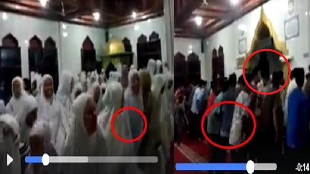 Heboh Lagi !! Beredar Video Gerakan Aneh saat Shalat Berjamaah di Dalam Masjid!!