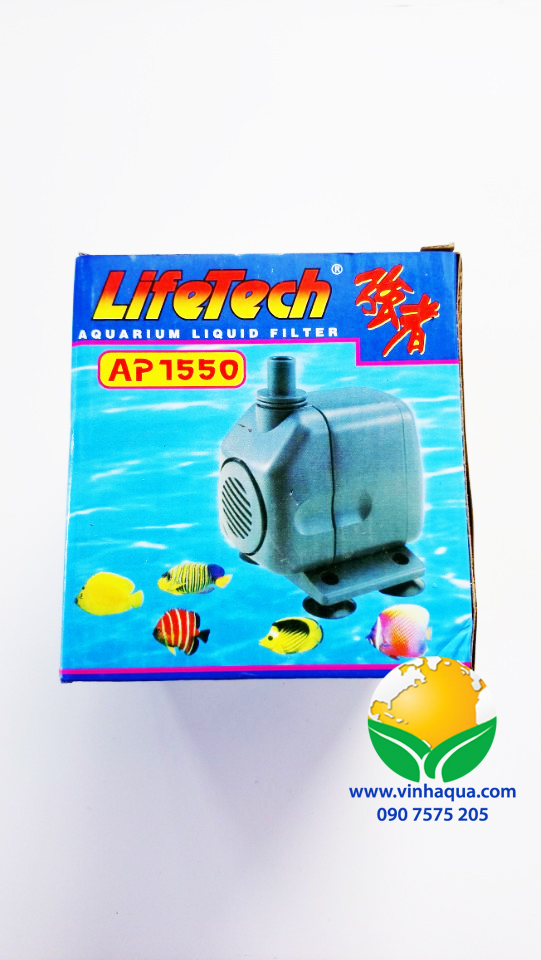 Phụ kiện thủy sinh - máy bơm Lifetech AP1550