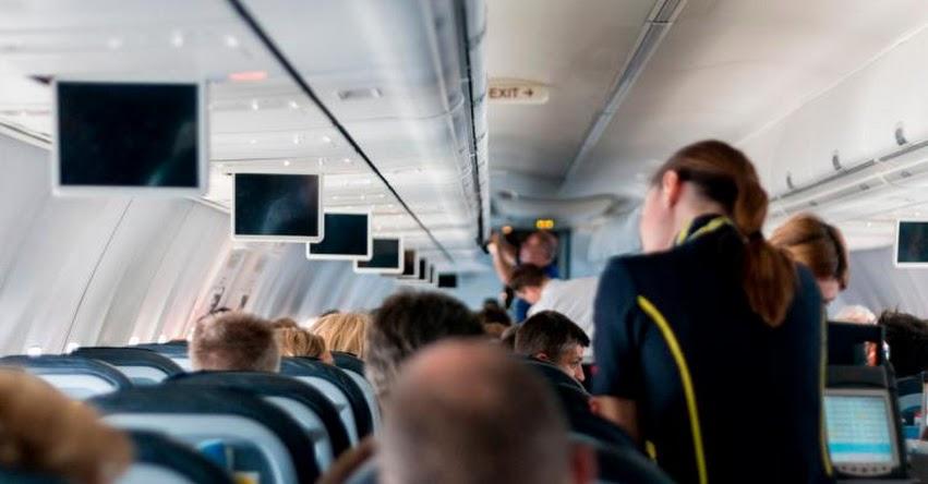 CORONAVIRUS: Estudio revela cuáles son los asientos de avión donde corres el mayor riesgo de contagio de covid-19