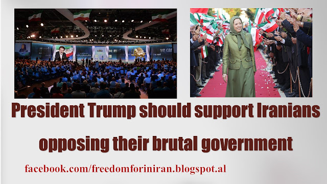 President Trump should support Iranians opposing their brutal government