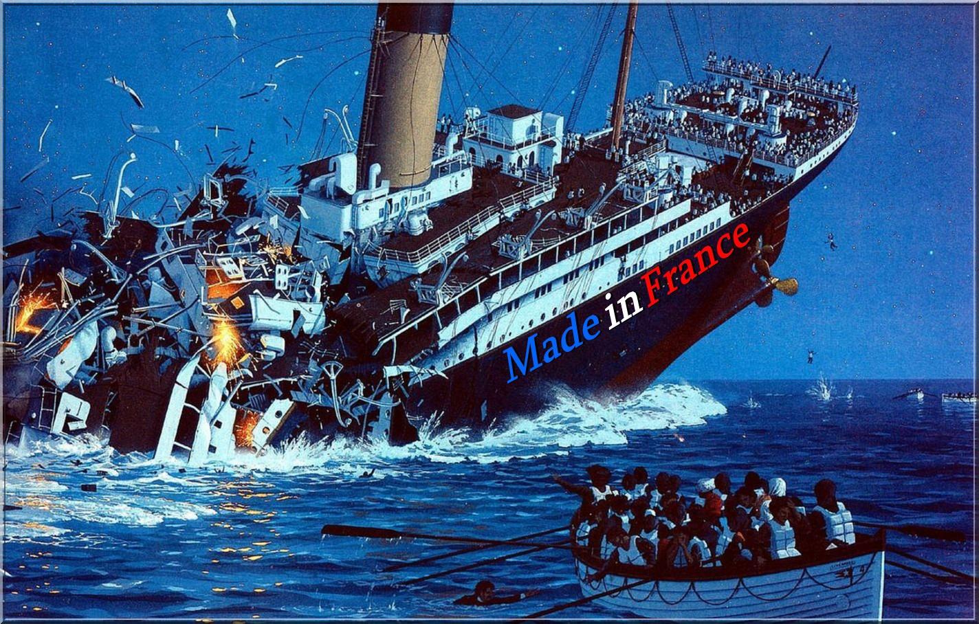 """""""Adieu ma France"""" : avec Macron, tout le pays est en train de couler !"""