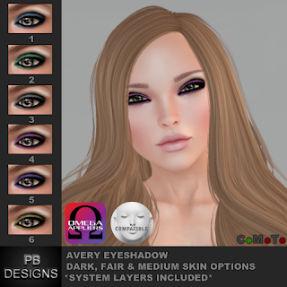 New Release - Lelutka & Omega Compatible Makeup!
