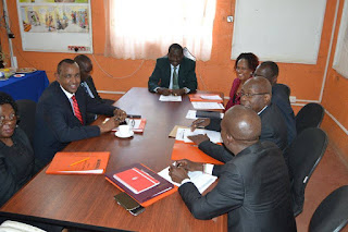 ODM NEB discuss over Busia Chaos. PHOTO | Courtesy