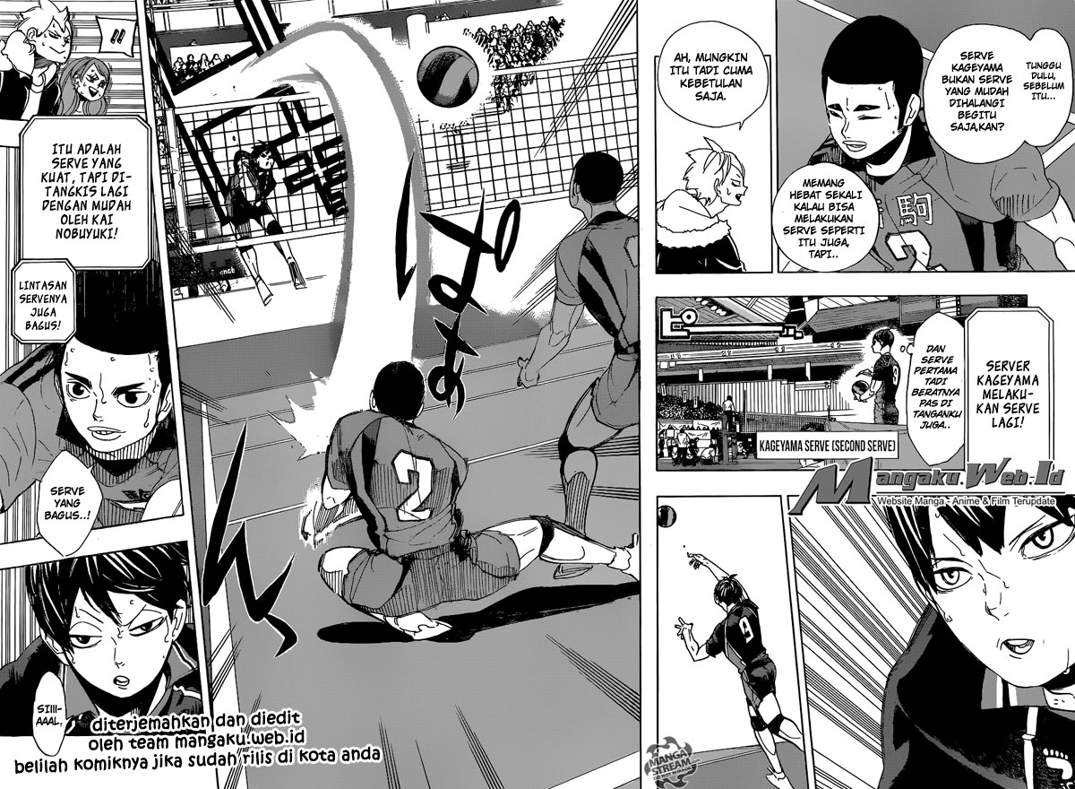 Haikyuu!! Chapter 295-6