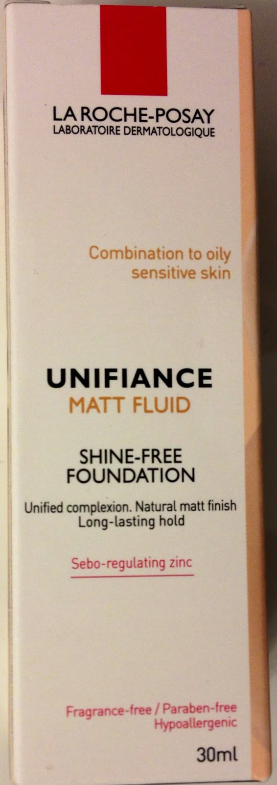 Make Up Nicht Komedogen Beautyrausch: La Roche Posay Unifiance Matt Fluid - 02