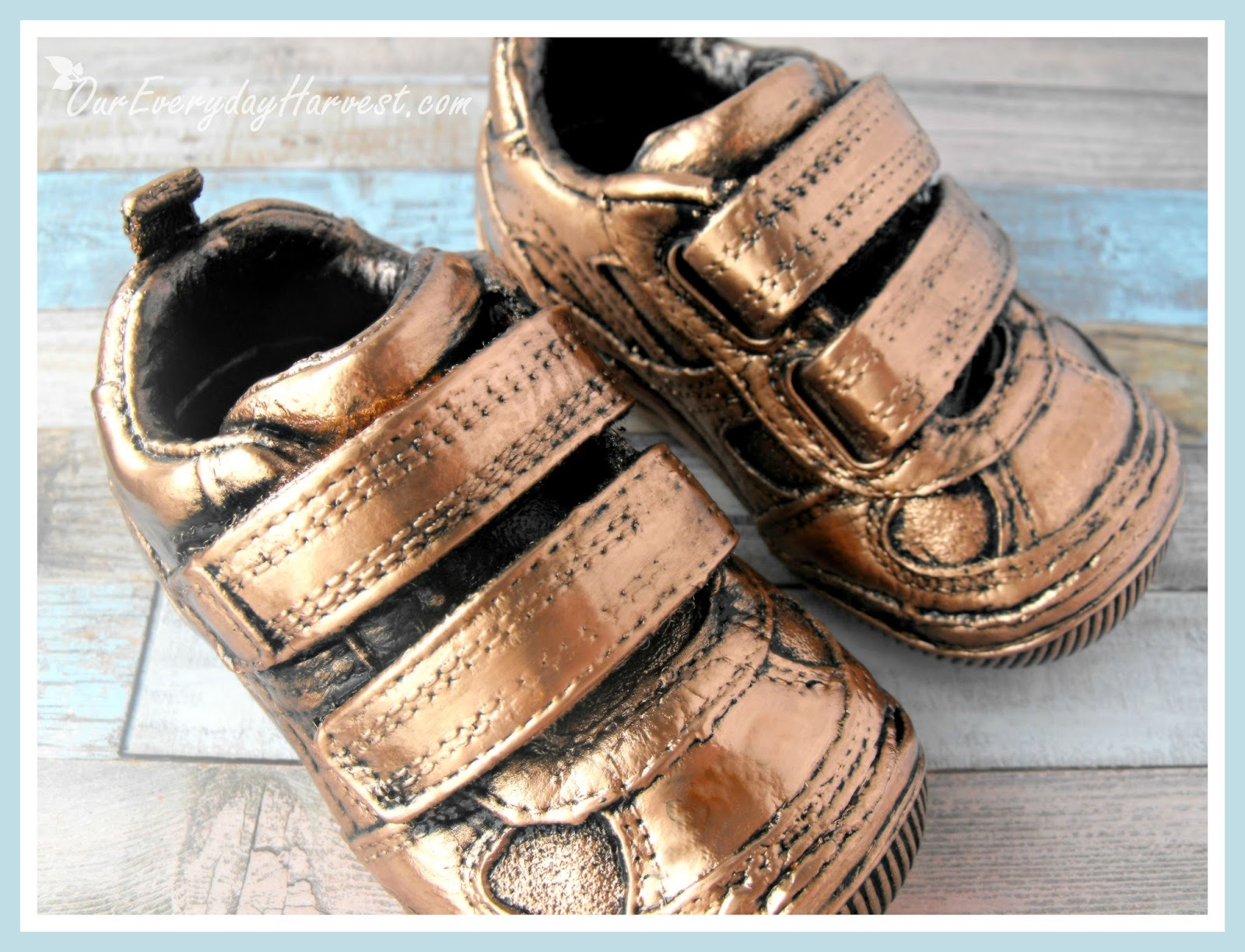 Preserving Baby S First Shoes