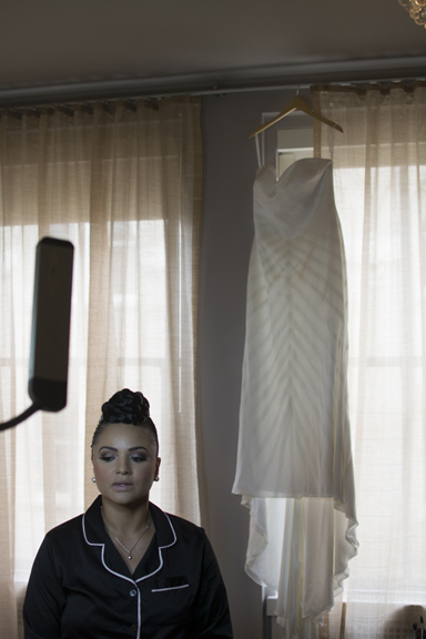 Final looks Deep South Brides at 21C Museum Hotel  shot on location by fine art wedding photographer Angela Cappetta