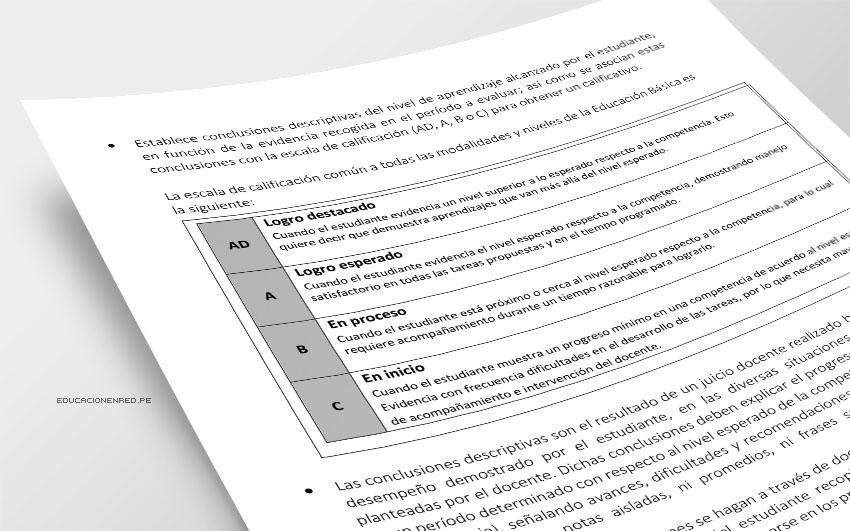 Conoce la norma legal que cambia la calificación en las libretas escolares (R. M. Nº 281-2016-MINEDU)