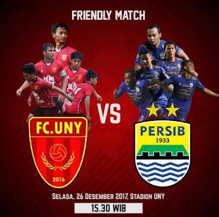 Siaran Langsung FC UNY vs Persib via Instagram Batal