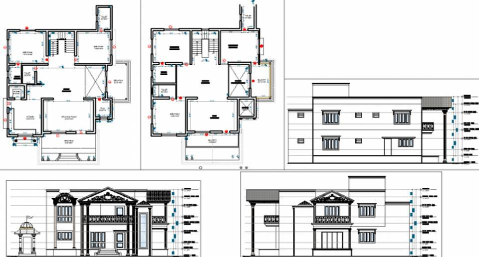 Dwell Of Decor Download Bungalow DWG AutoCAD Files The