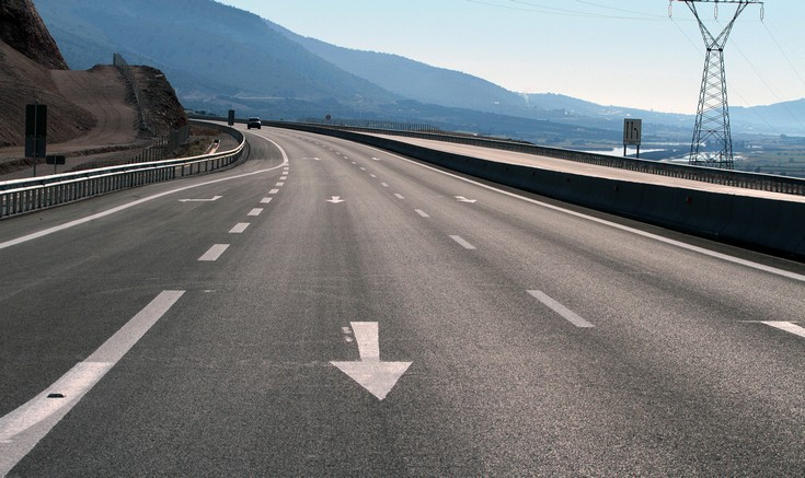 Η Ιόνια Οδός έδωσε στην κυκλοφορία το πρώτο μεγάλο τμήμα του δρόμου
