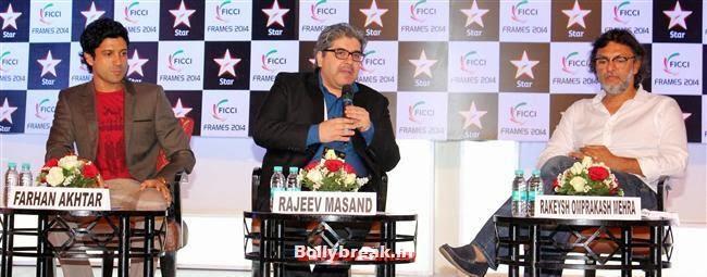 Farhan Akhtar, Sonam, Kjol & Abhay at FICCI Frames 2014