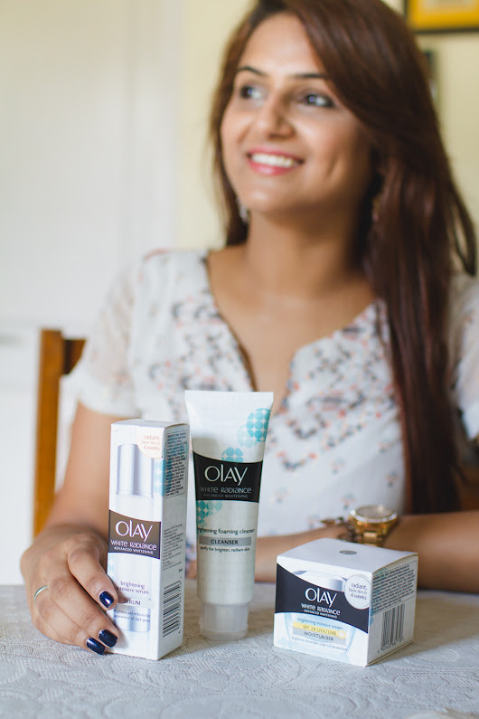 Guilty Bytes: Indian Fashion Blogger | Style Blogger | Beauty Blogger: My Glowing Bridal Skincare Regime With Olay White Radiance