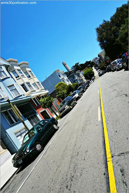 Filbert Street en San Francisco