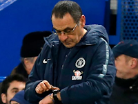 Maurizio Sarri could leave Chelsea during the international break