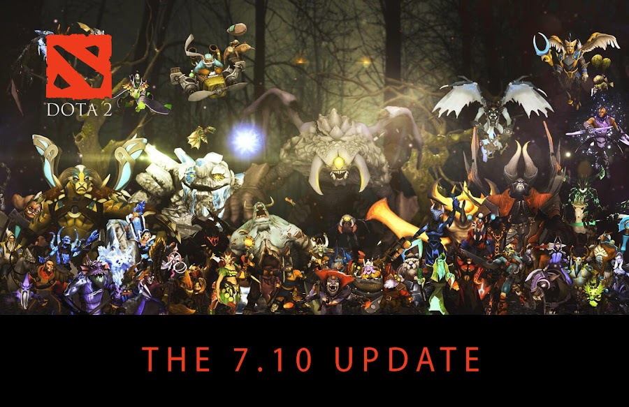 dota 2 7.10 patch notes changes bounty rune
