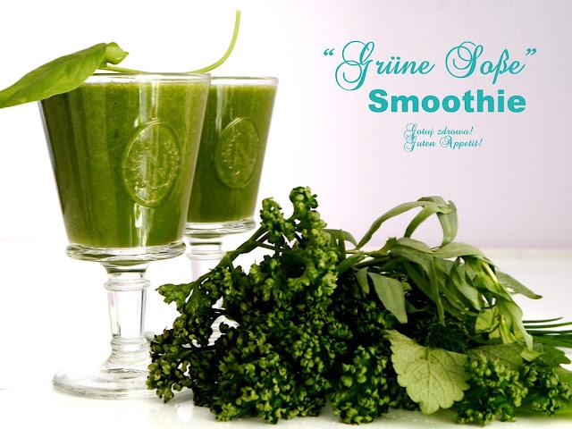 """Smoothie """"Grüne Soße""""- z zielonym sosem - Czytaj więcej »"""