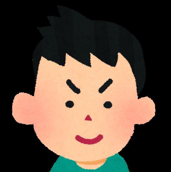 男の子の顔のアイコン かわいいフリー素材集 いらすとや