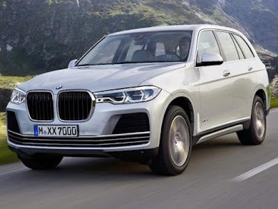 BMW X7 2018: PRIX, FICHE DE DONNÉES ET PHOTOS