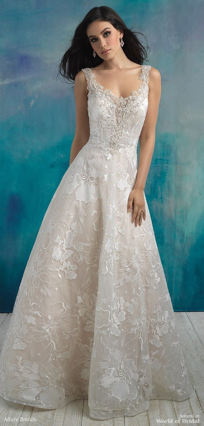 Allure Bridals Spring 2018 Wedding Dresses - World of Bridal