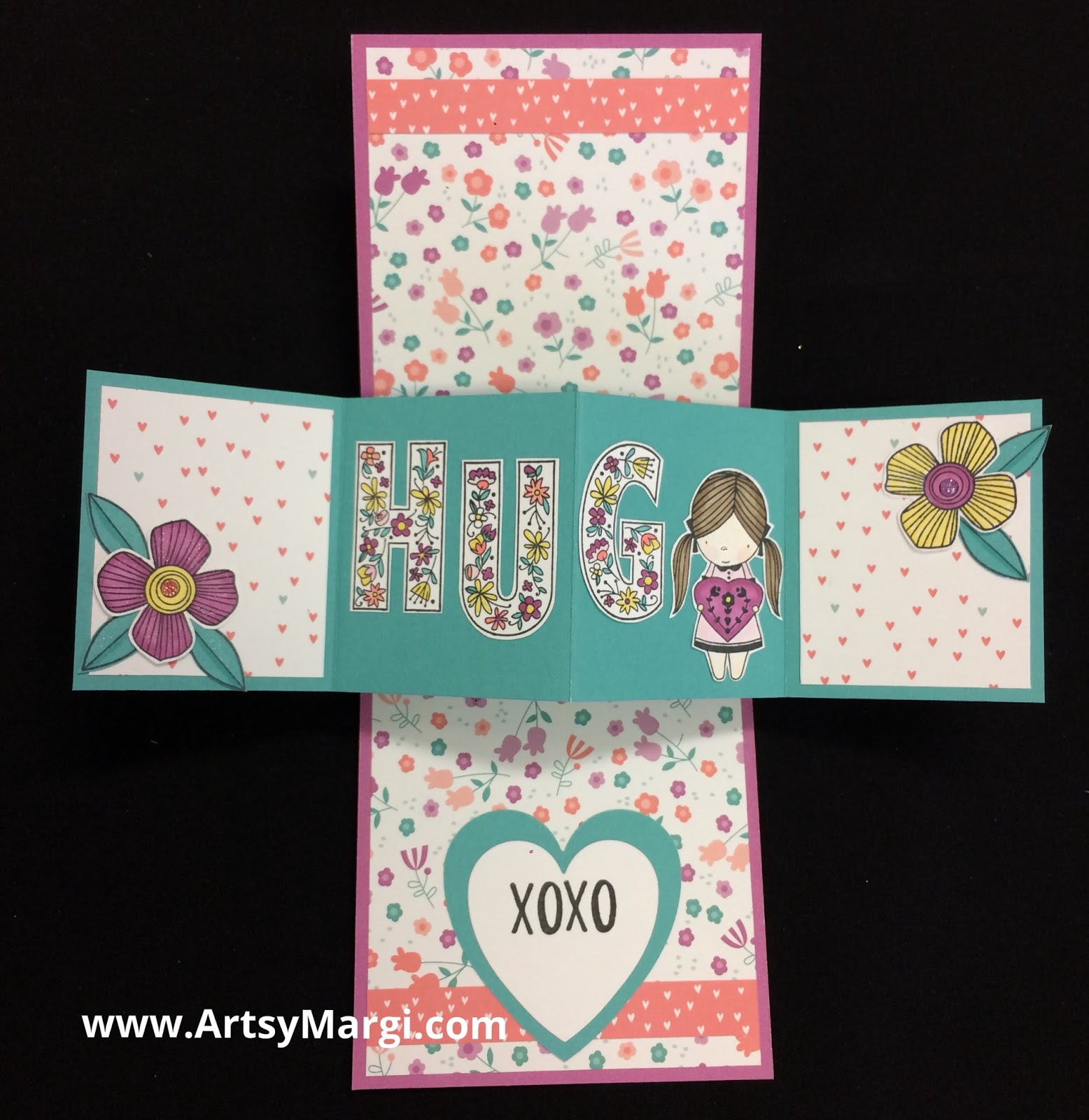 Flesh colored cardstock - I Used The Bright And Cheerful Colored Papers From Little Dreamer Plus A Sheet Of Thistle And Lagoon Cardstock