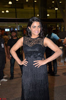 Wamiqa Gabbi in a sleeveless Black Designer Transparent Gown at 64th Jio Filmfare Awards South ~  Exclusive 072.JPG
