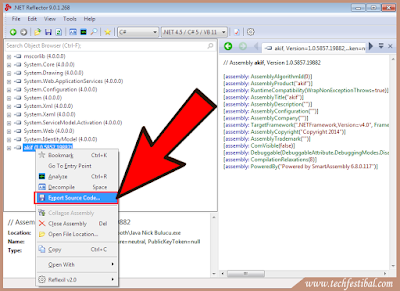 how to decompile .net exe, .net decompiler