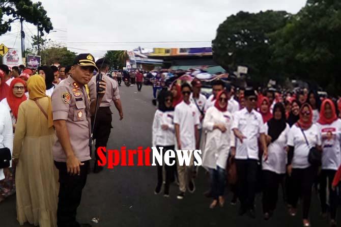 AKBP Sinto Silitonga, Sukses Pengamanan Kampanye Capres 01 di Wilayah Kab Gowa