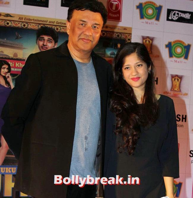 Anu Malik with his daughter Anmol Malik, Simran Kaur Mundi sizzles in White Dress at Kuku Mathur Ki Jhand Ho Gayi Promotion