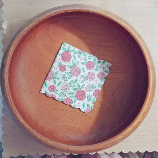 upcycled bowl supplies