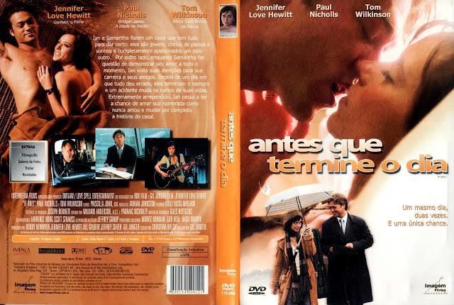 Capa DVD Antes Que Termine o Dia