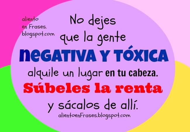 Dile No A La Gente Negativa Aliento En Frases
