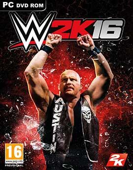 تحميل لعبة المصارعة WWE 2K16 كاملة للكمبيوتر