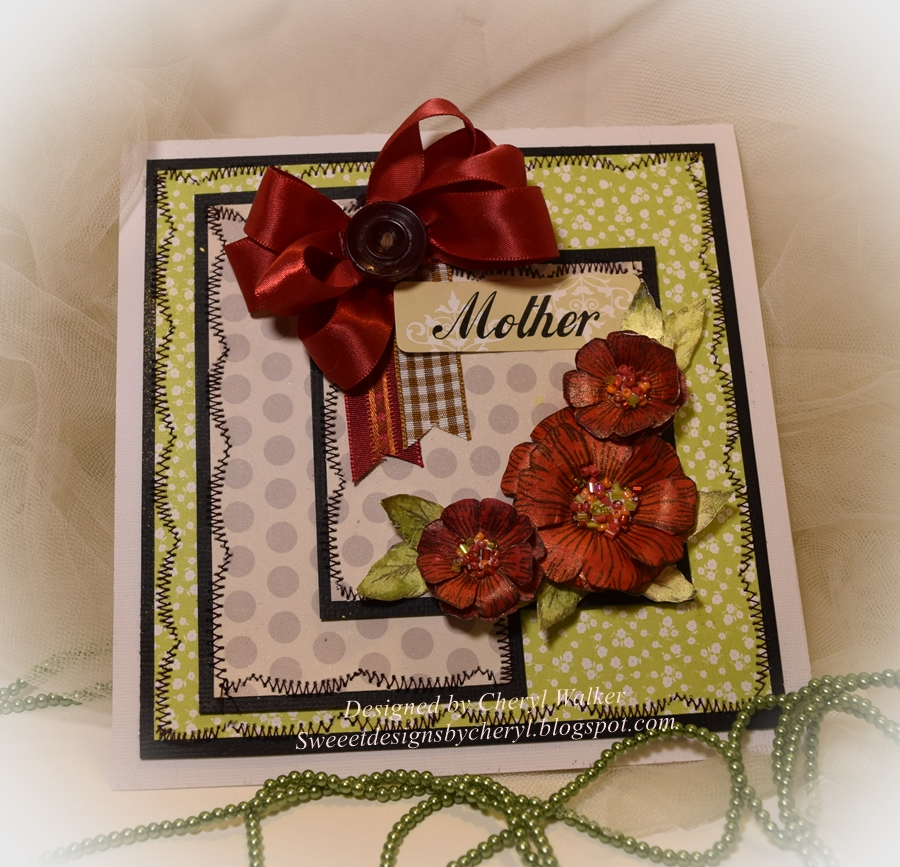 sweeet designs by cheryl flora for mom
