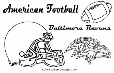 baltimore ravens coloring pages - baltimore ravens free colouring pages