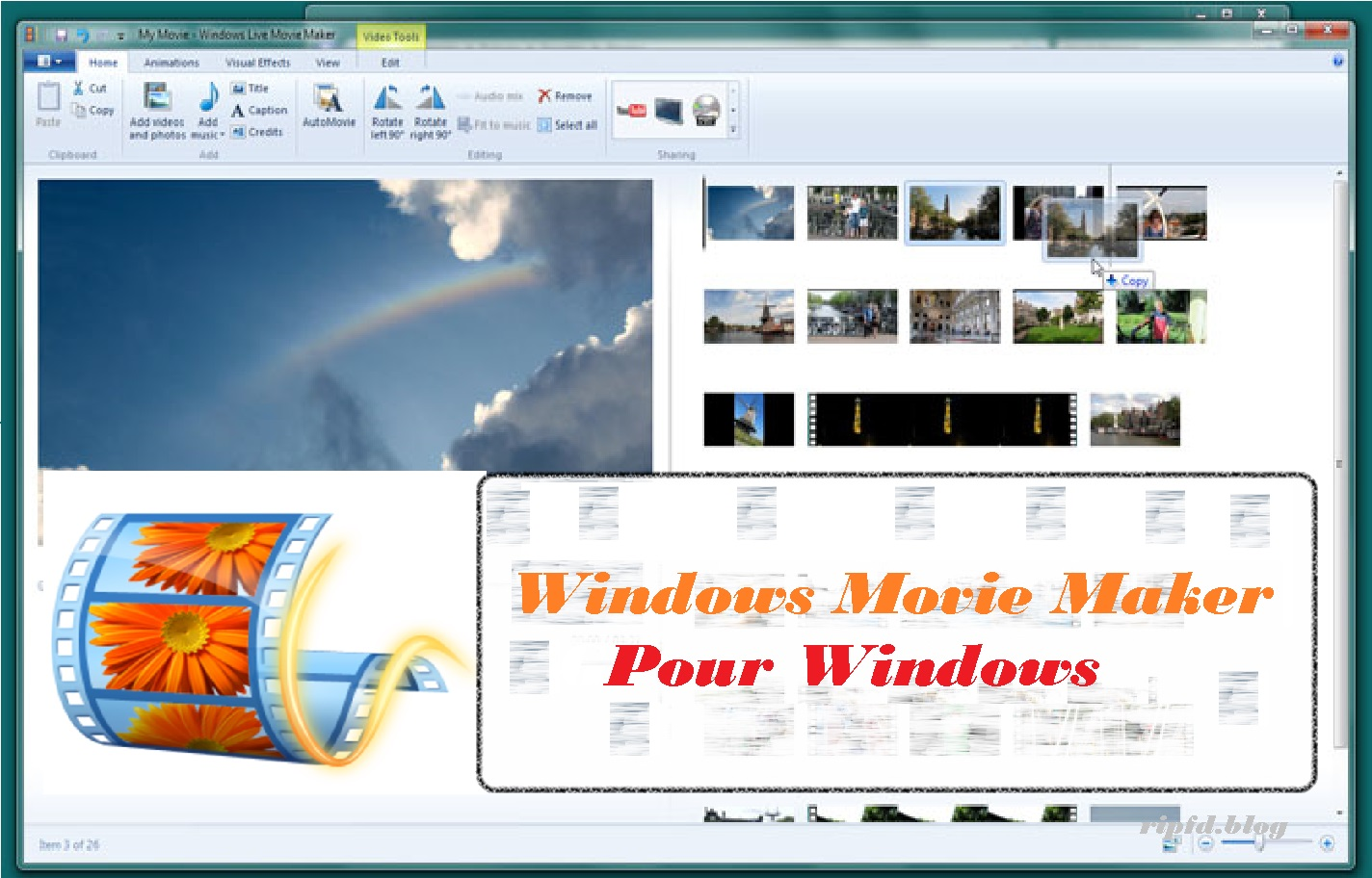 telecharger windows movie maker pour mobile