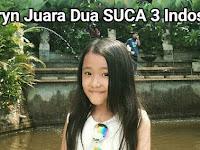 Karyn Juara Dua SUCA 3 Indosiar
