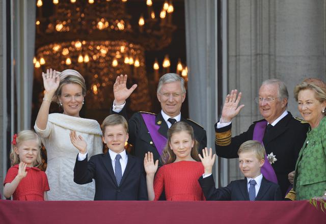 famille royale belge, Rois belges,saxe combourg,mathilde