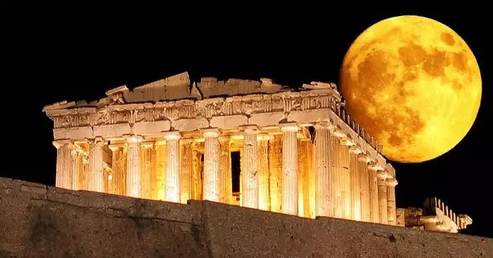 Πώς ήταν η αρχαία Αθήνα και ο Ιερός Βράχος της Ακρόπολης πριν από 2.000 χρόνια (βίντεο)