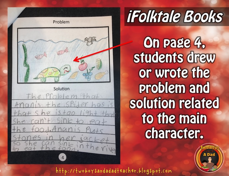 Homework project problem and solution in the story