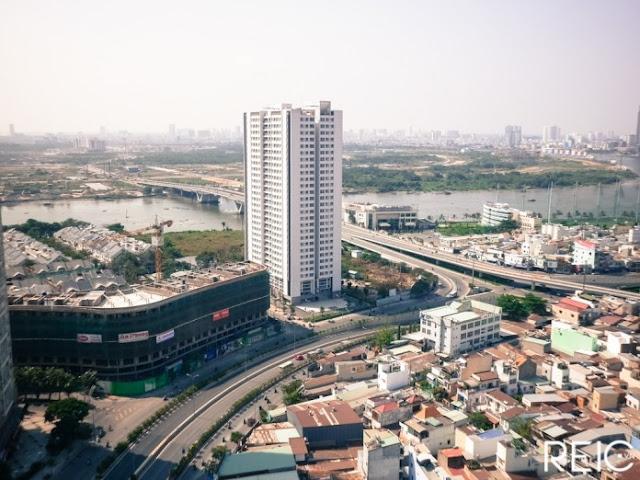 Hình ảnh thực tế dự án căn hộ Sunwah Pearl Thủ Thiêm Bình Thạnh HCM