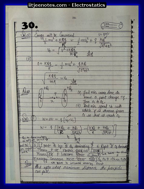 Electrostatics Notes cbse5