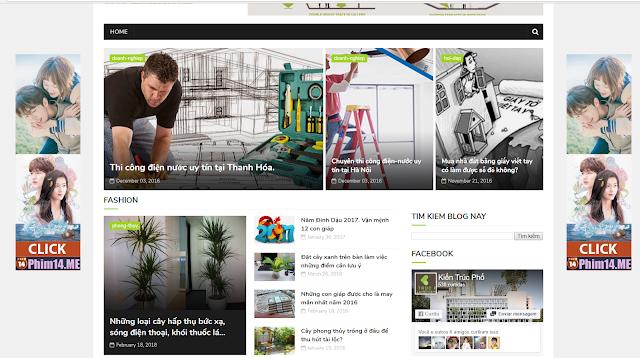 Cách tạo banner quảng cáo trượt dọc hai bên website/ blogger
