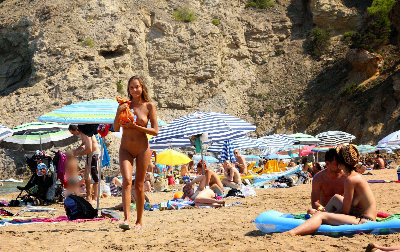 Sexy Nude Beach Teens