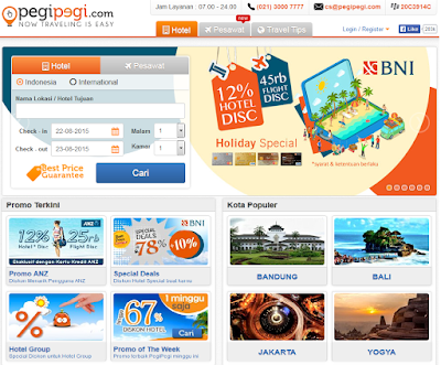 situs booking hotel online termurah di indonesia