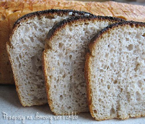 Chleb orkiszowo-żytni jasny
