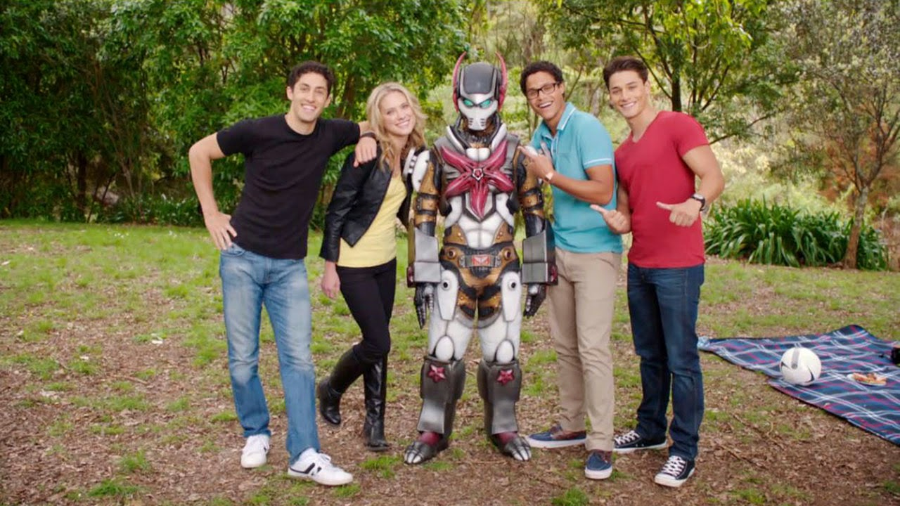 Henshin Grid Power Rangers Megaforce Rico The Robot